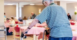 The staff of a retirement home Korian called to strike on Monday