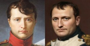 The true face of Napoleon Bonaparte created via an artificial intelligence