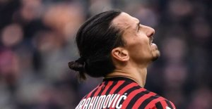 Zlatan gets rid with the terror: Only the injured calf muscle