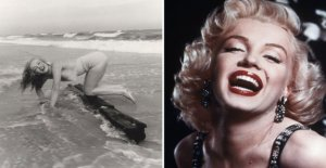 Unknown photos of Marilyn Monroe sold for jättesumma