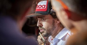 Alonso lurking: Chokskifte in the game