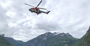Big action: Child fallen in the river in Norway
