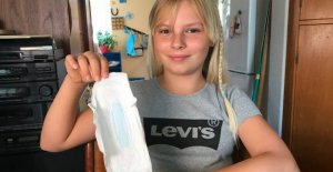 Got menstruation as a 9-year-old: Cecilie fighting for less volume