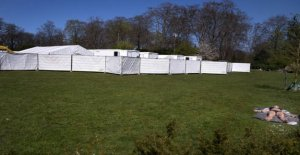 Now can the children down to the age of 12 be tested in the white tents