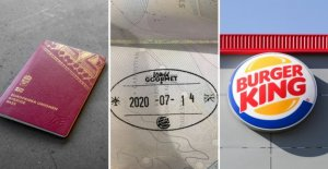 Police are warning of the Burger king's offer for the passport to be invalid, the