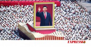 Rather, one is chewing gum during xi's shoe than that of China's doormat