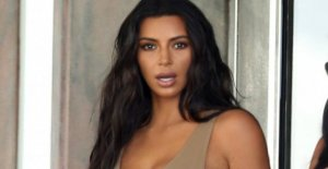 Red shock: See Kim Kardashian with red hair
