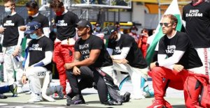Therefore refused the Formula 1 stars to kneel