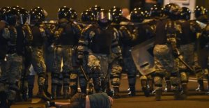 A killed and 120 arrested during the protests against the belarusian elections