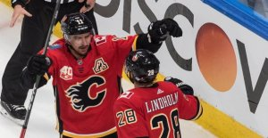Calgary took the win after a goal by Backlund