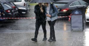 DMI: Here comes the rain