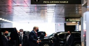 Donald Trump visits the sick brother in the hospital in New York city