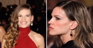 Hilary Swank disappeared from Hollywood: Thank god.