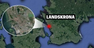 RIGHT NOW: Explosion at a store in Landskrona, sweden