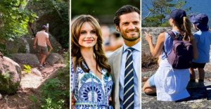 Sofia and Carl philip's delightful summer private photos
