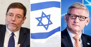 Swedish foreign minister Carl Bildt: the Bible, of Israel's ambassador to the