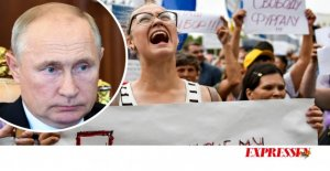 The protests show that Putin is not out of reach