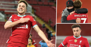 Diogo Jota and Nat Philips shine for Liverpool