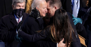 Biden talked about joining a divided nation