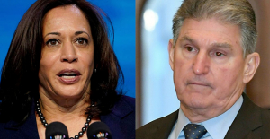 Kamala Harris TV Look in West Virginia surprises Manchin:'That Is not Functioning together'