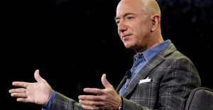 Jeff Bezos, Amazon#039;s founder,...