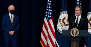 Blinken defends Biden's refugee cap,...