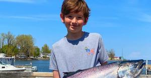 12-year-old fisherman wins $15K for Grabbing 26-pound fish at New York