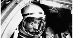 60 years Because 1st American in space: Natives Liner up