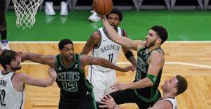 Tatum's 50 points Take Celtics over Nets 125-119