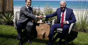 Biden urges G-7 leaders to Phone out and compete with China