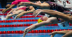 GLIMPSES: Olympic swimmers aiming for victory