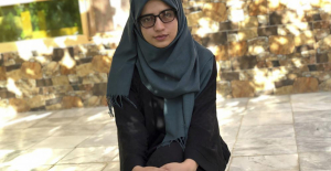 Afghanistan's top high school graduate is worried about her future