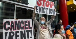 The end of the eviction ban will allow...