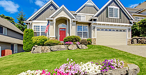 Adding Curb Appeal to Common Backyard...