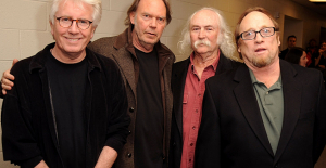 David Crosby describes Neil Young as the most selfless person he has ever met