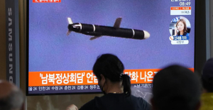 In its latest test, North Korea launches a short-range missile at sea