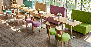 Incorporating Color Into Your Restaurant Furniture