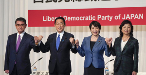 Japan#039;s ruling party starts race...