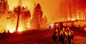 The wildfire at Lake Tahoe seemed manageable. But then, it was not