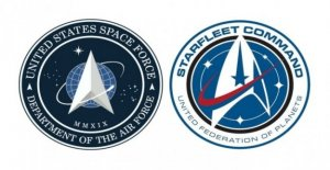 Usa, Trump announces the logo of Space Force. And the Network breaks: But it is the one of Star Trek...