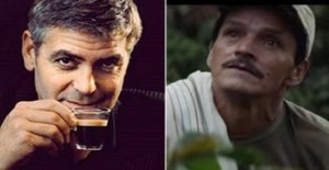 Coffee beans Nespresso George Clooney collect them the children of guatemala