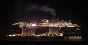 Coronavirus, the ship Msc Meraviglia waiting to berth authorized in Mexico. Protests on the ground