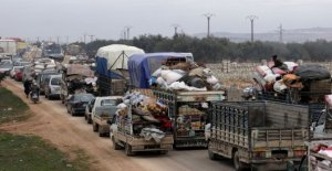 Syria, the escalation in Idlib: Ankara pushes the refugees toward the borders of the Eu