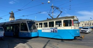 NOW the Trams, in the event of a crash – causing the stop of the