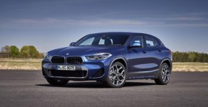 BMW X2 xDrive25e, only 38 g of CO2
