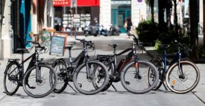 Four electric bikes to the test